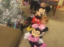 Huge Minnie and Mickey